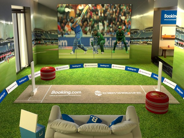 Booking.com invites cricket fans to The T20 Pavilion for an ultimate Cricket Stay