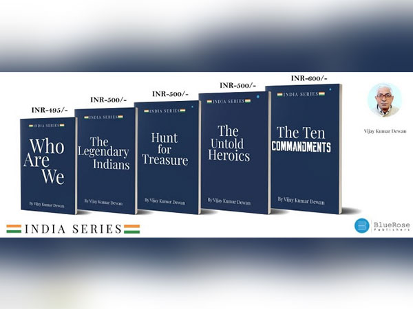 Author Vijay Kumar Dewan inspires youth with The India Series