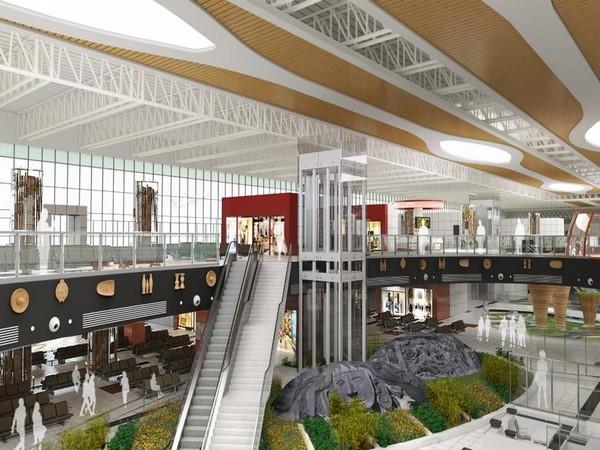 The New Integrated Terminal building of Maharaja Bir Bikram Airport