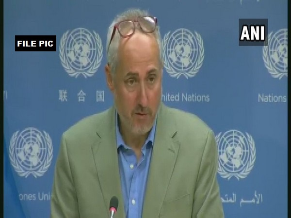 Stephane Dujarric, Spokesperson for United Nations Secretary-General (File pic)