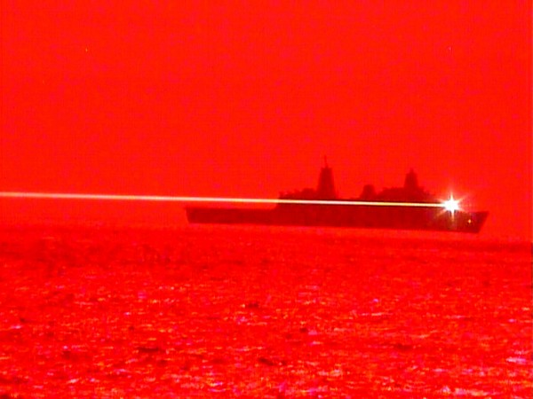 USS Portland conducts Laser Weapon System Demonstrator Test, announces Pacific Fleet