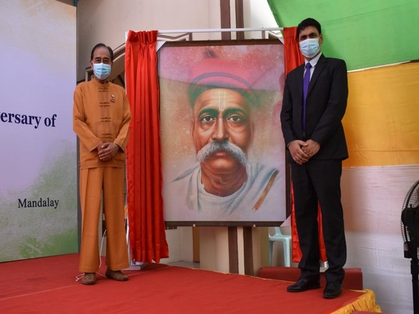 Consulate General of India in Mandalay organized an event to mark the 100th death anniversary of freedom fighter, Bal Gangadhar Tilak