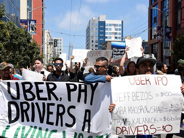 Will Uber drivers benefit from the biggest stock exchange debut in years?