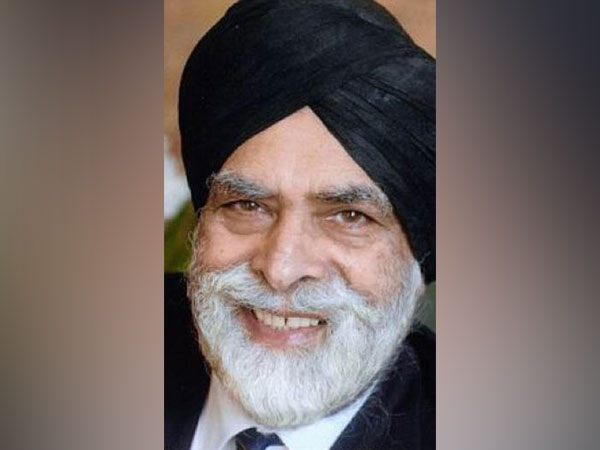 Lord Indarjit Singh, a prominent Sikh peer in the House of Lords