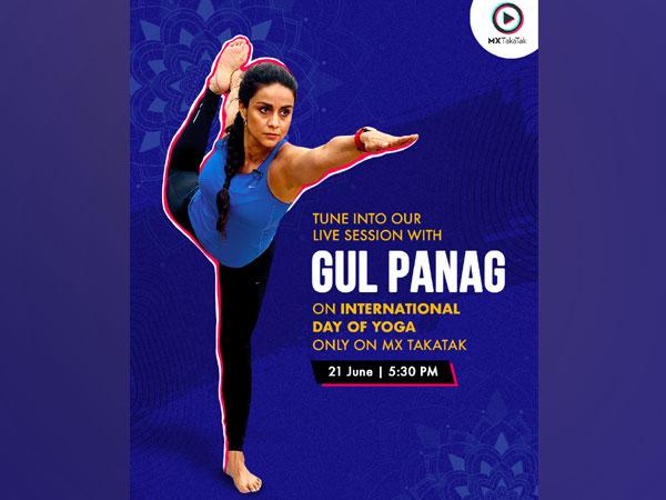 Celebrate International Yoga Day with Gul Panag