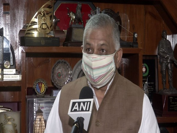 Union Minister VK Singh speaking to ANI in New Delhi on Thursday. [Photo/ANI]