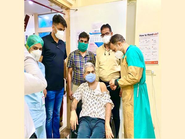 Vaccination drive for 18+ has started at Dana Shivam Hospital Jaipur