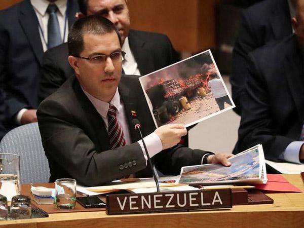 China opposes military intervention in Venezuela, envoy says