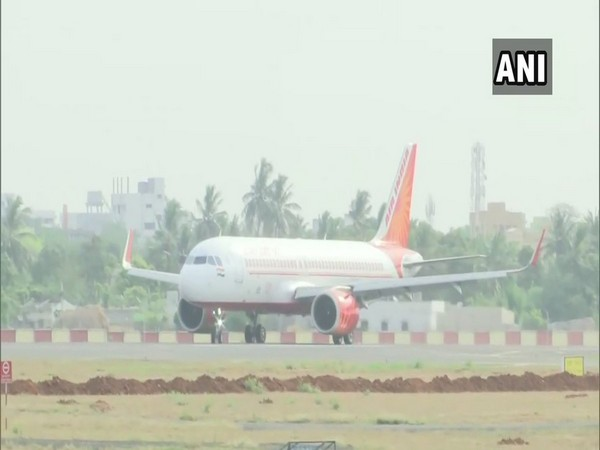 Vande Bharat flight arrives in Vijayawada with 145 passengers from London
