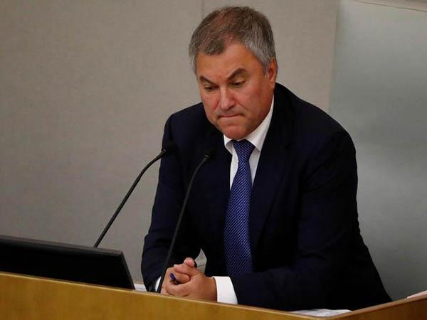 Kiev slaps sanctions on Russia's lower house speaker