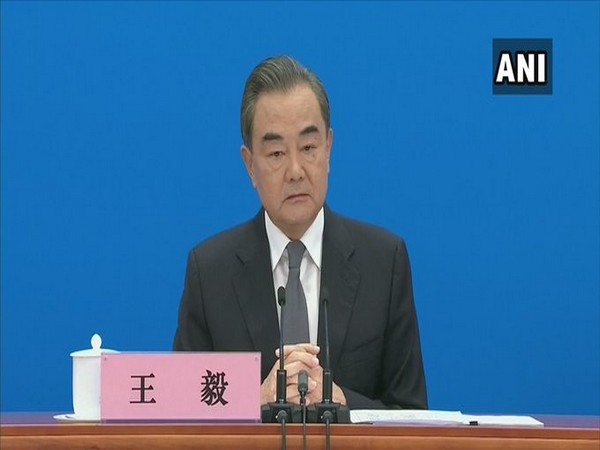 Chinese Foreign Minister Wang Yi in Beijing on Sunday.