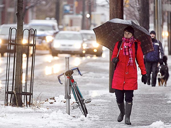Ottawa in store for a drenching Friday, but at least it's not freezing