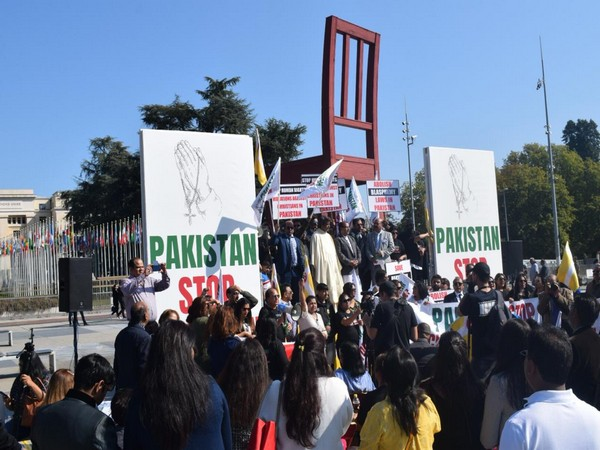 Protests in Geneva by Pakistani-Christian community