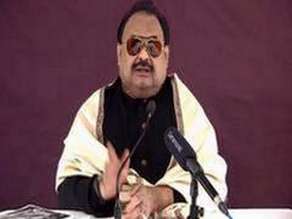 Muttahida Qaumi Movement's founder Altaf Hussain