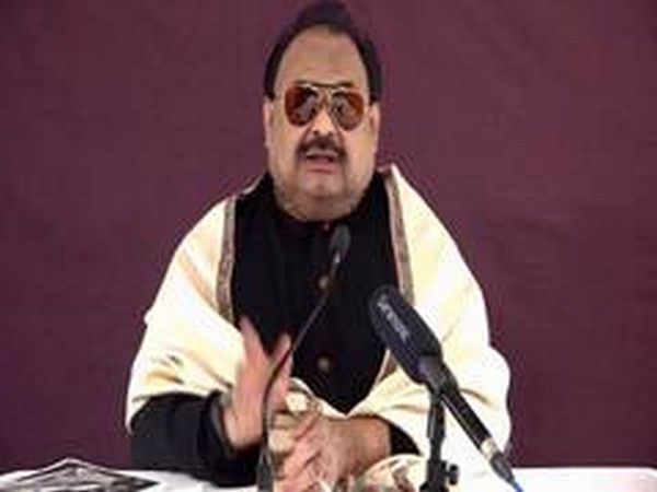 Muttahida Qaumi Movement's (MQM) founder and leader Altaf Hussain