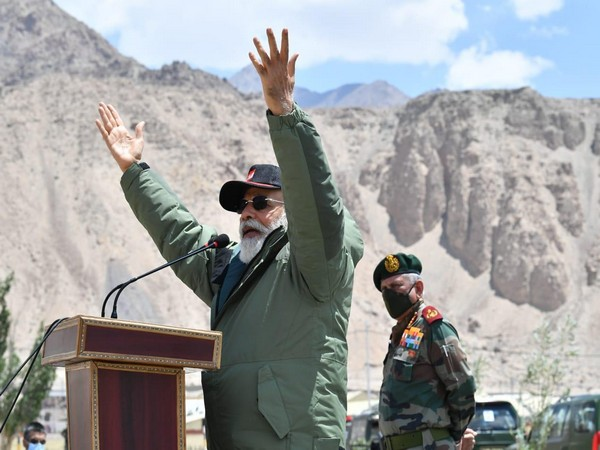View of women soldiers on battlefield at border is inspiring: PM Modi in Ladakh
