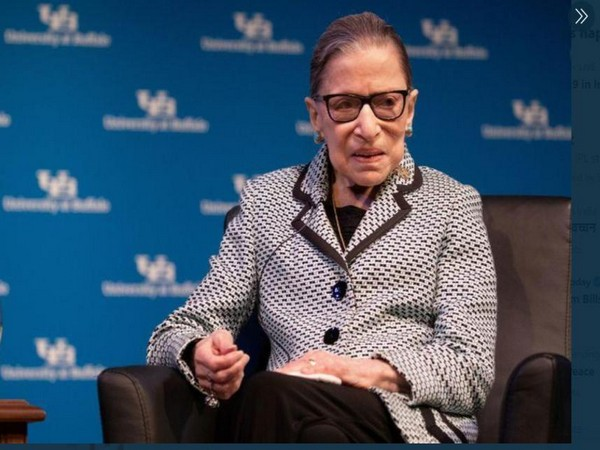 US Supreme Court Justice Ruth Bader Ginsburg