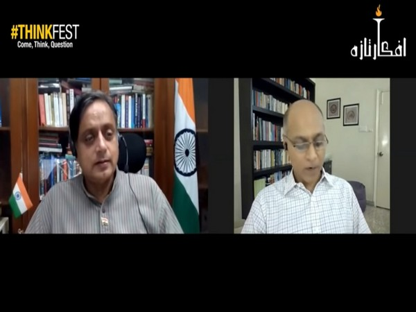 We look with envy across the border over COVID-19 situation: Tharoor at Lahore ThinkFest
