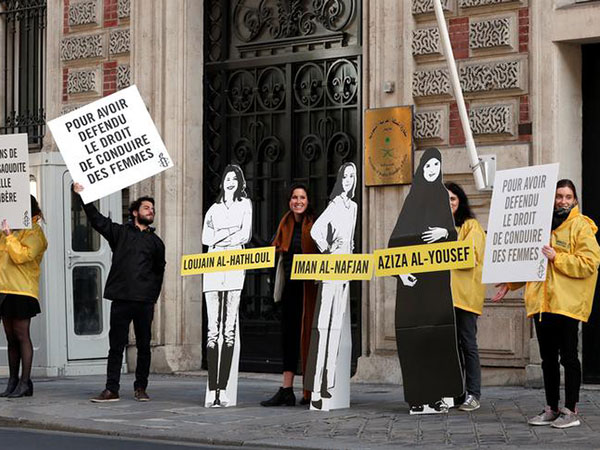 Four Saudi women activists freed pending trial, say campaigners