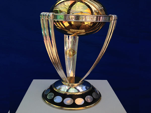 Afghan Fan Creates ICC Cricket World Cup Trophy With Grass