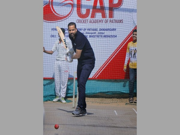 Ace Cricketer Yusuf Pathan inaugurates the Cricket Academy of Pathans in Jodhpur as part of its PAN India Expansion
