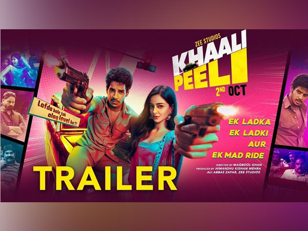 Crazy fun trailer of Khaali Peeli is here, movie releases on Zee Plex on 2nd October