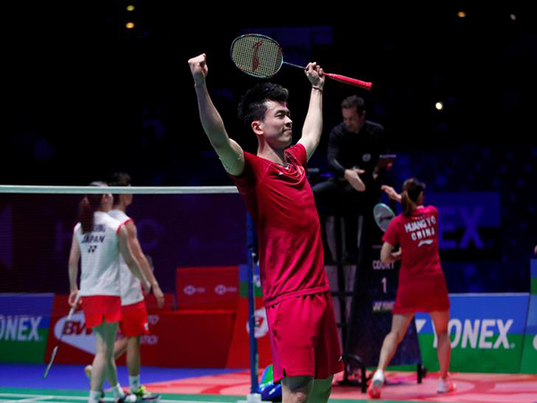 Roundup: China knocks out Denmark, Thailand sinks South Korea at Sudirman Cup