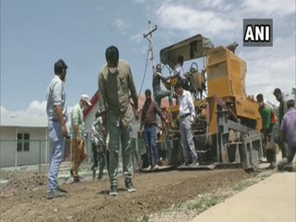 Construction of roads under PMGSY in full swing in J-K's Baramulla