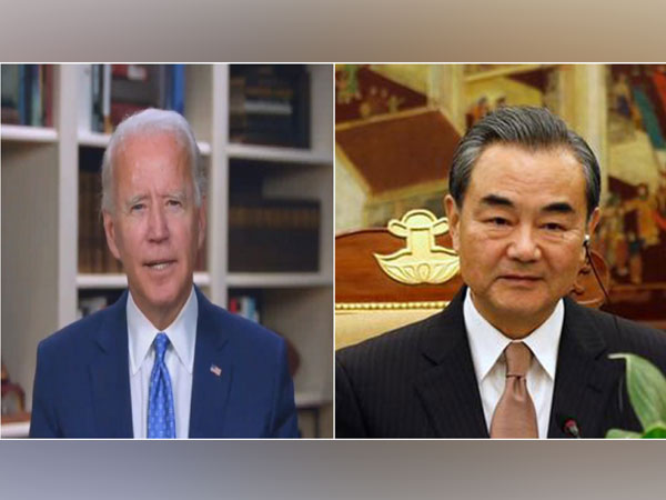 US President-elect Joe Biden and Chinese Foreign Minister Wang Yi
