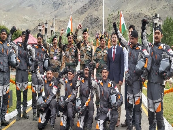 Army battalion in J-K completes motorcycle rally to commemorate 20 years of Kargil Vijay Diwas