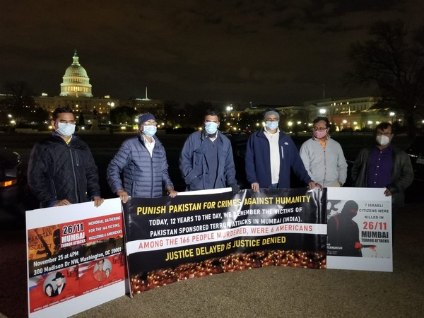 'We want justice': Indian-Americans protest against Pak on 26/11 anniversary