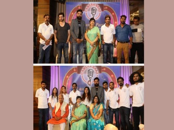 Versova MLA Bharti Lavekar inaugurates Camerabaaz YouTube Channel, CEO Sumit Kumar Tiwari felicitates Sunil Pal, others