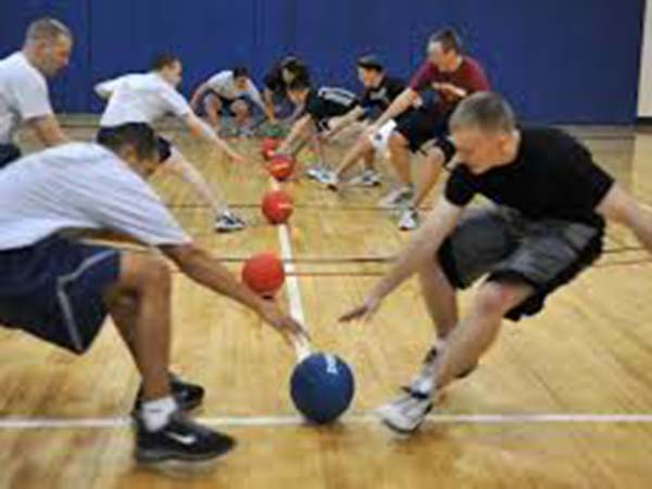 Players vie for victory at elite London dodgeball tournament