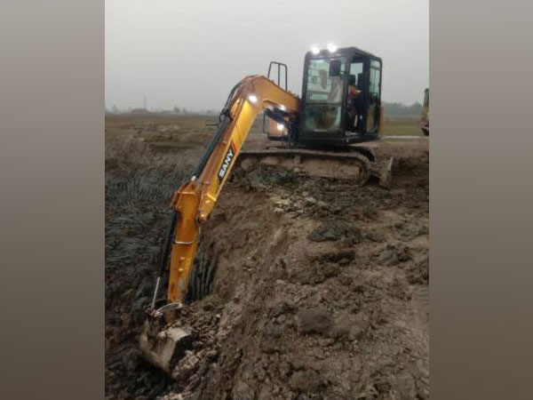Sany India's Newly Launched Excavator SY80C-9 Shines