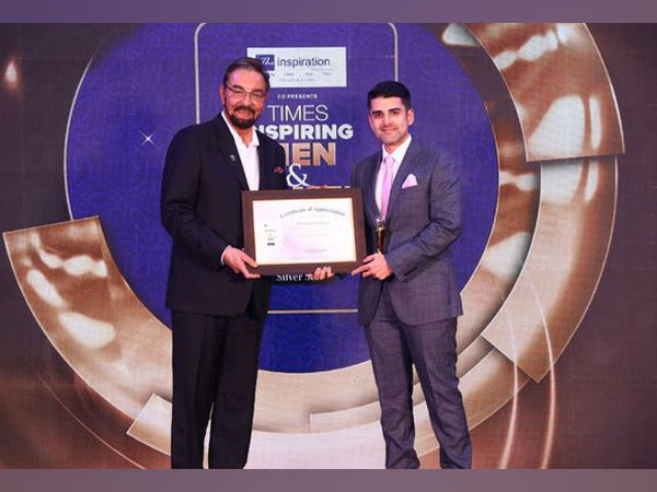 Shrenik Ghodawat wins Times Group 'Young Business Tycoon 2021' Award