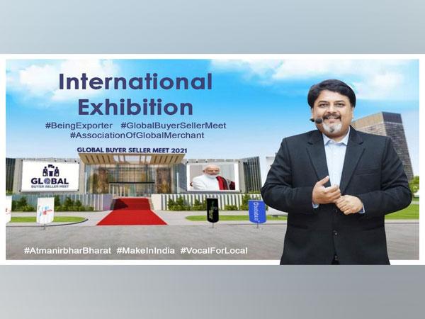 Man of export organizes a Grand 3D Event 'Global Buyer Seller Meet'