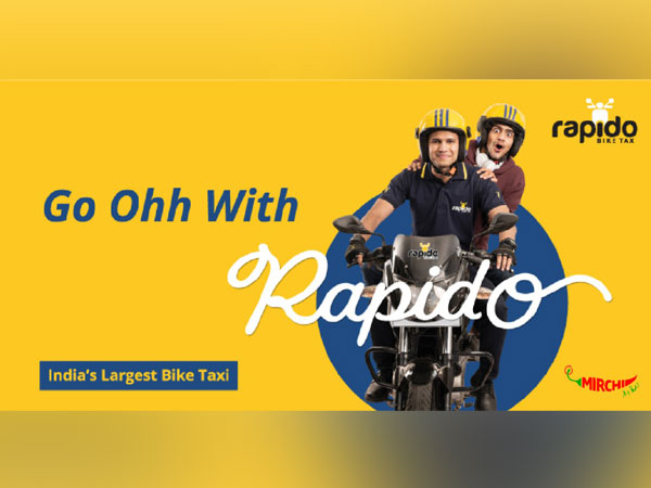 Mirchi says get going with India's fastest, safest, smartest and the most affordable Bike Taxi and #GoOhhWithRapido