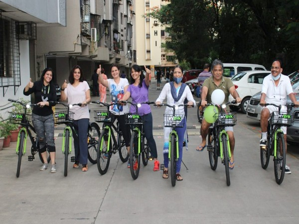 Mumbai residential societies take to MYBYK bike-sharing service to ensure wellbeing and sustainability