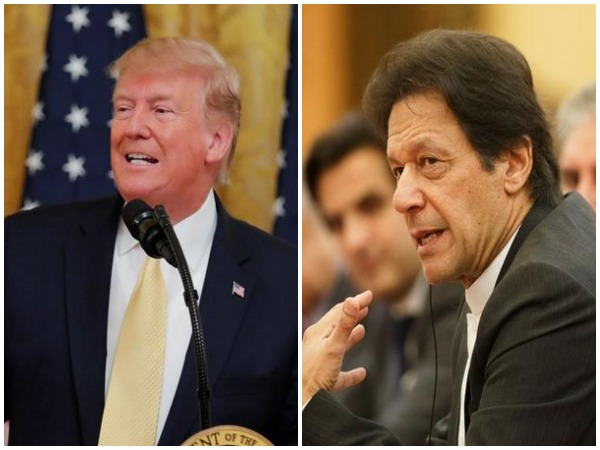 US President Donald Trump and Pakistan Prime Minister Imran Khan (File photo
