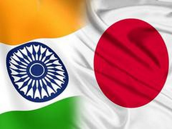 India and Japan Flags