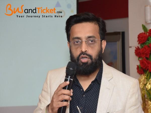 Aamir J Ahmad, CEO of the online ticketing platform BusAndTicket.com