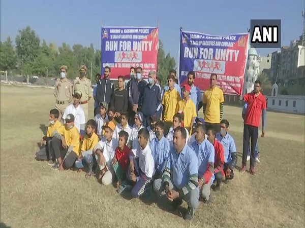 Police organise 'Run for Unity' and  other sports activities in Rajouri