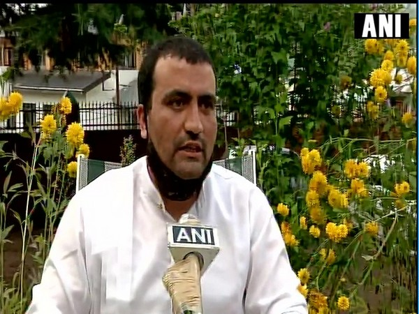 Aftab Rasool, one of the candidates who qualified for prestigious civil services, speaking to ANI in Kupwara on Tuesday. (Photo/ANI)