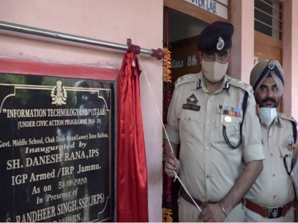 J-K: IRP 19th Battalion establishes computer lab at Kathua govt school