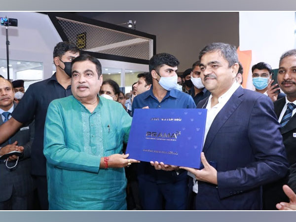 Nitin Gadkari, Union Minister of Roads, Transport and Highways along with Ashish P Dhakan released the special Coffee Table book on PRAMA India on 26th October 2021