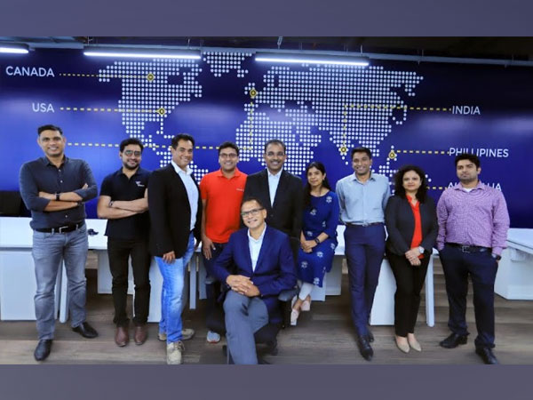 Raghu Pareddy, CEO of Wissen Technology with the team