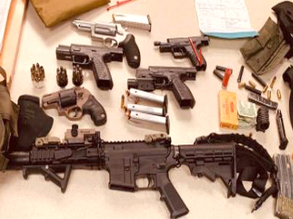 Drunk man on South Beach had 5 loaded guns, bullet-resistant vest and swastika, cops say
