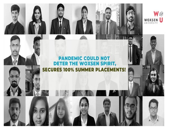 Woxsen University secures 100 per cent Summer Placements for students enrolled in its MBA programs