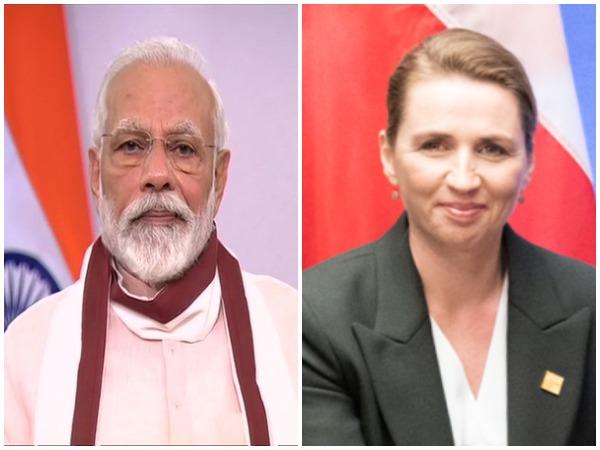 Prime Minister Narendra Modi and Danish counterpart Mette Frederiksen.