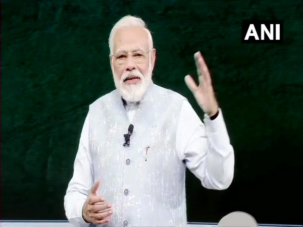 Prime Minister Narendra Modi speaking at 'Pariksha Pe Charcha 2020' event in New Delhi on Monday.